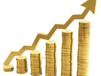 Рост котировок золота в графиках