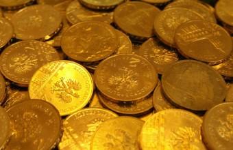 Сколько весит золото в монете?