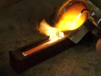 Температура при которой плавится золото на примере 585 пробы