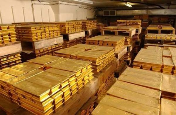 Склад с золотом