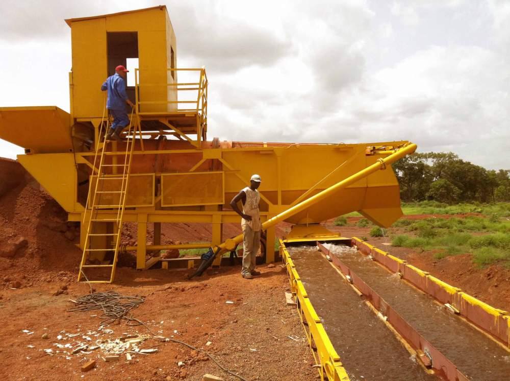 Разработка золоторождений