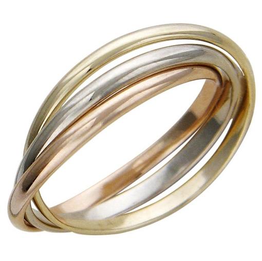 Различные оттенки золота на кольце