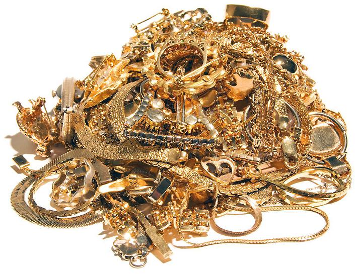 Стоимость золота в скупке лома