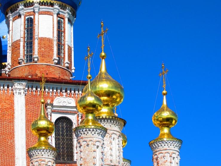 купола сусальное золото
