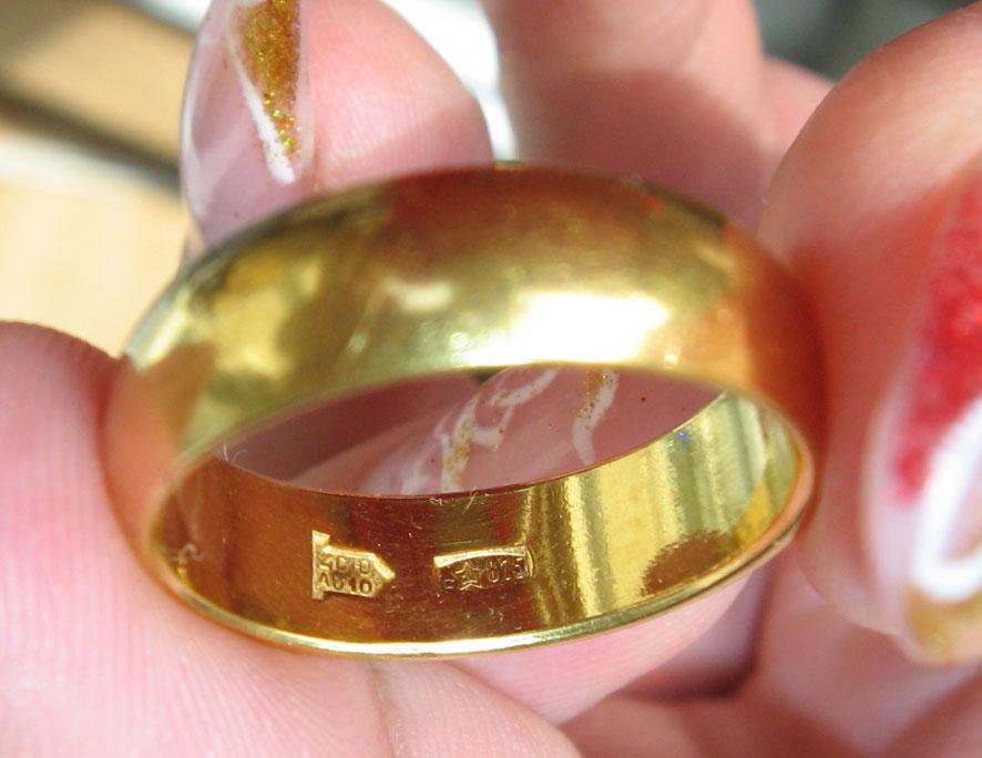 Золото кольцо