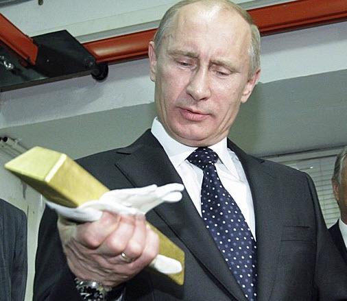 Россия закупает золото