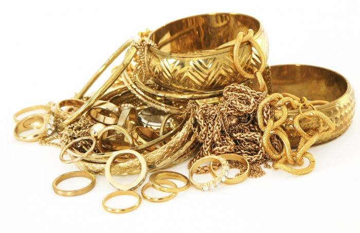 Золотые украшения сохраняют сбережения