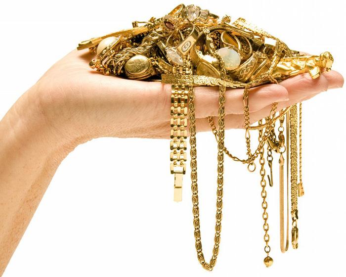Чистка изделий из золота