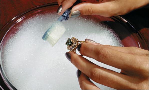 Очистка мылом