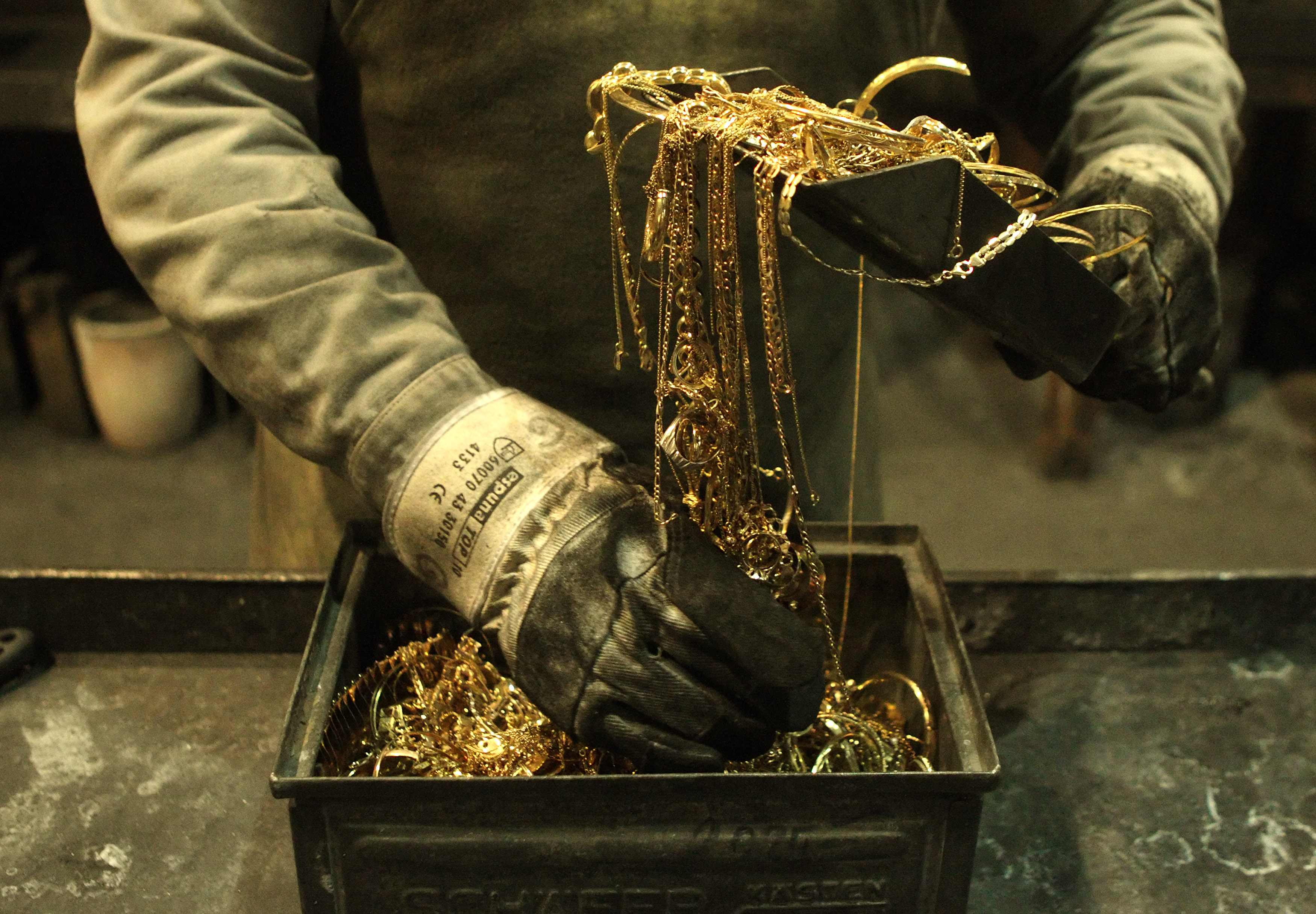 Реализация золота