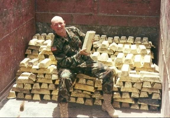Золото и война