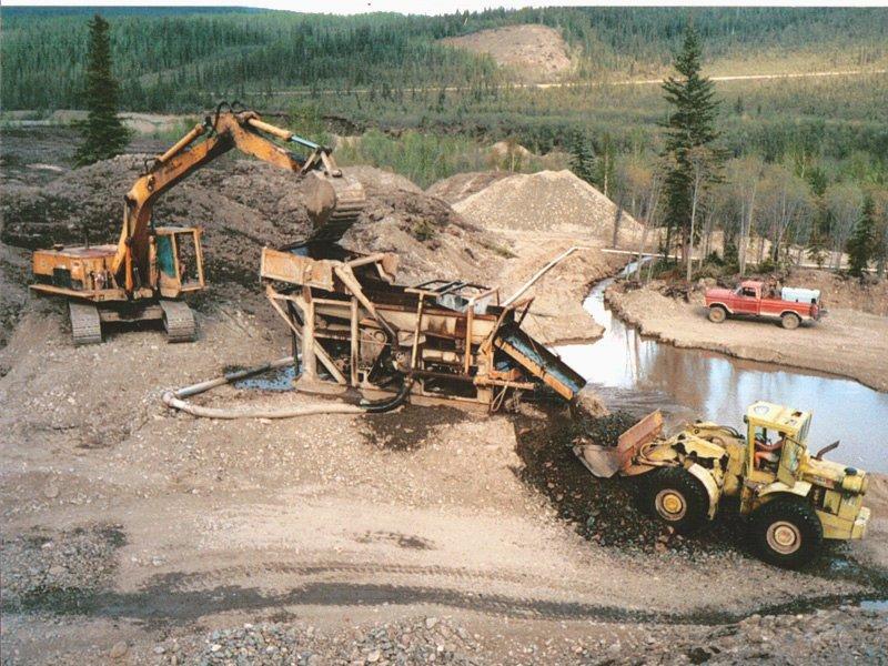 Разработка золотой руды