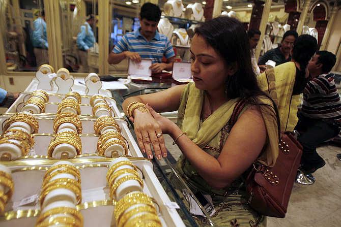 Ювелирная лавка в Индии