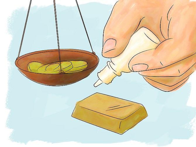 Как проверить золото в домашних условиях на 413