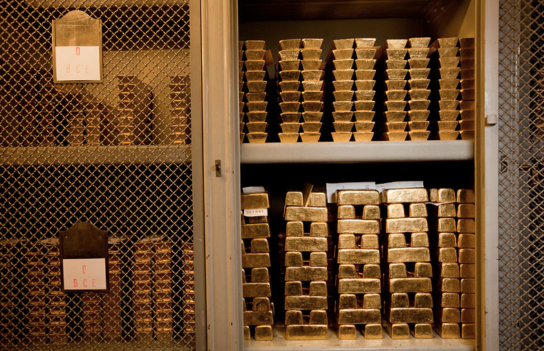 Хранилище золота
