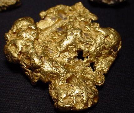 Самый большой кусок золота в США