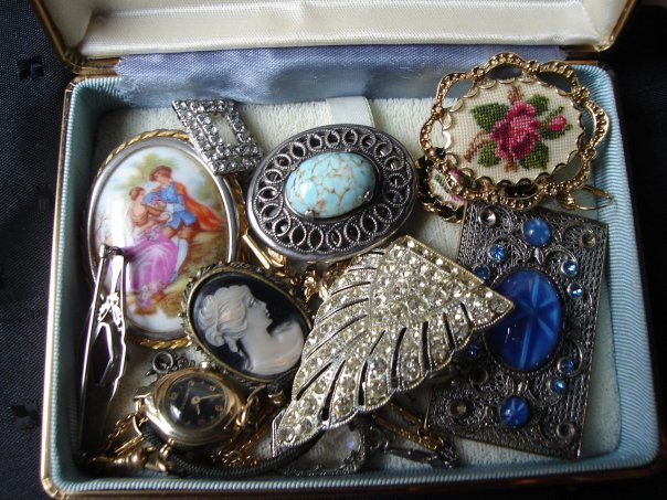 Старинные ювелирные изделия