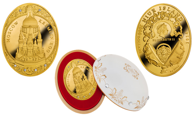 Монет Московский Кремль