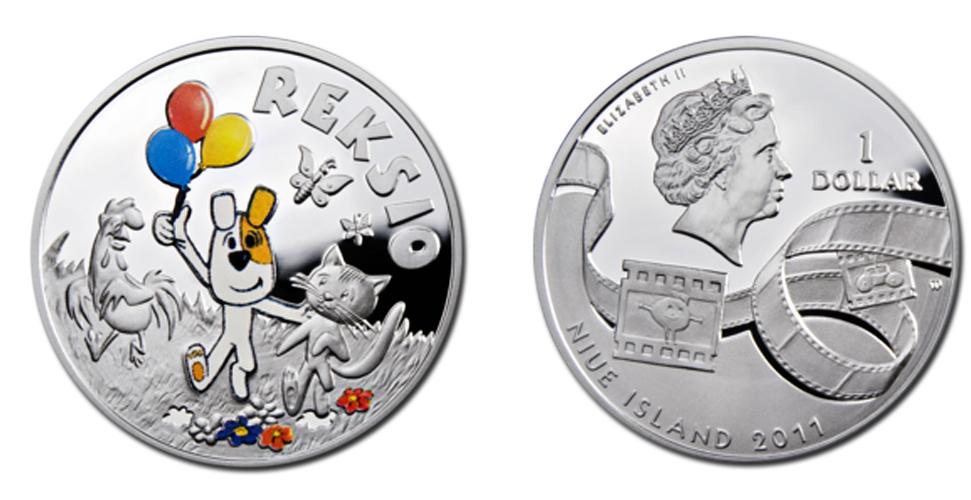 Монета Пес Рекс