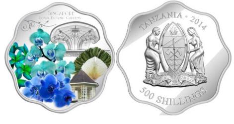 Монета Сад Сингапура