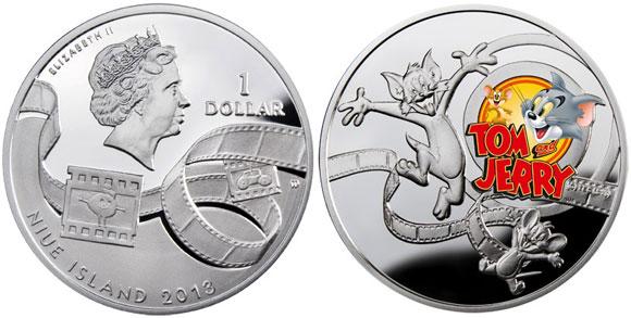 Монета Том и Джерри