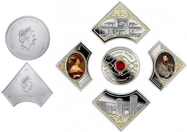 Монета Воронцовский дворец