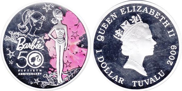 Монета Барби