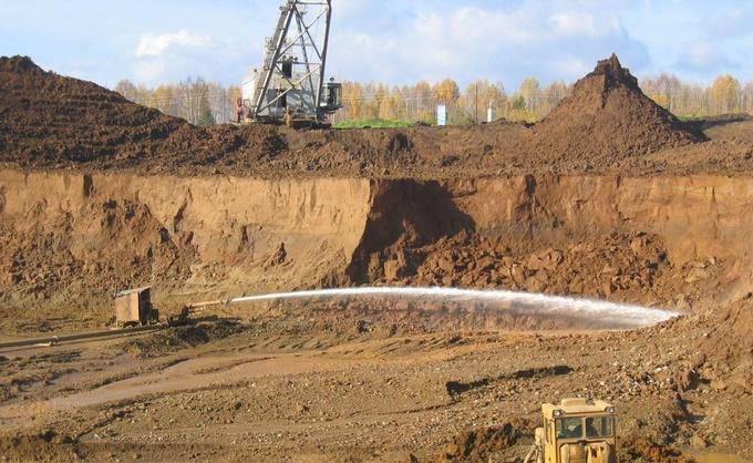 Разработка золотого месторождения
