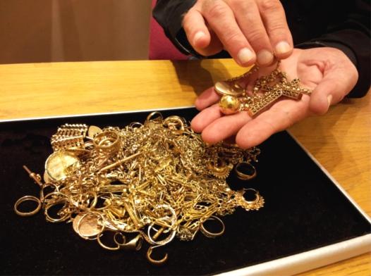 Приобретение золота
