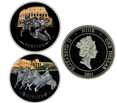 Монеты колизей