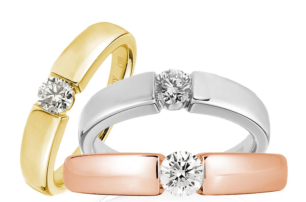 Цветные кольца