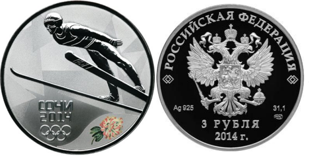 Монета трамплин