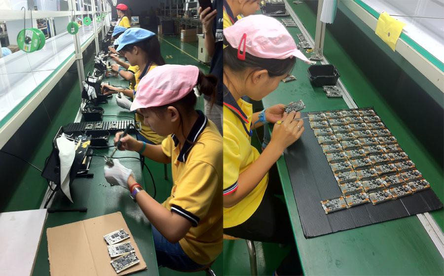Производство техники в Китае