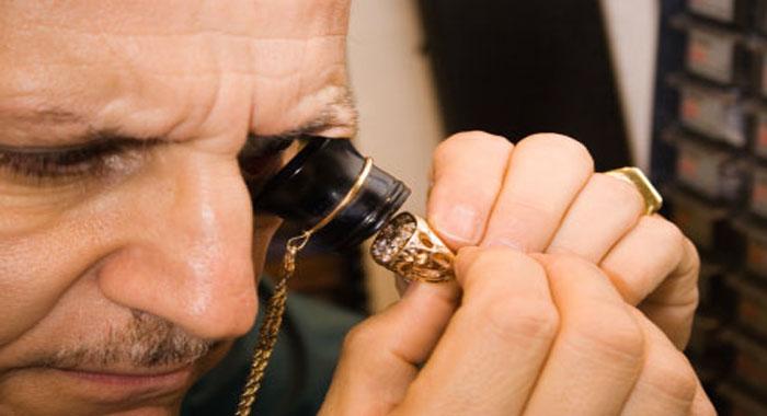 Визуальная проверка золота
