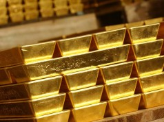 Резерв золотых слитков