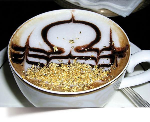 Кофе с золотом