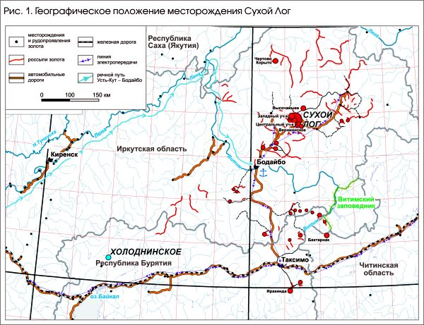 Карта Сухого Лога