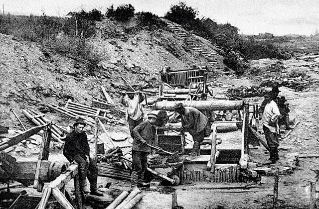 Золотодобыча 19 век