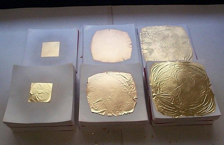 Листки сусального золота