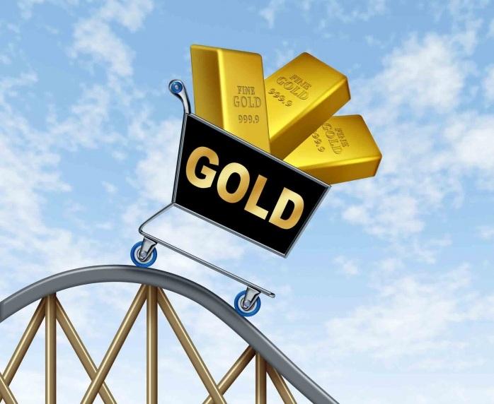 Падение стоимости золота