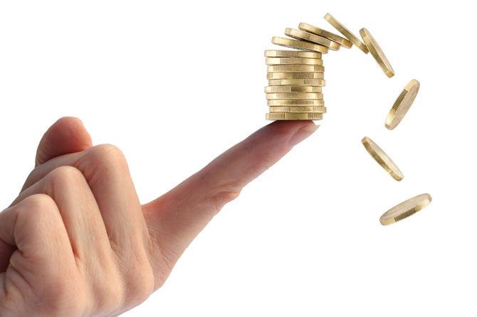 Снижение стоимости золота