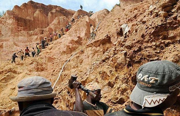 Добыча золота в Африке