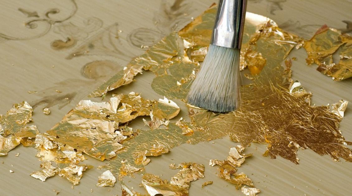 Золотое покрытие для поделок