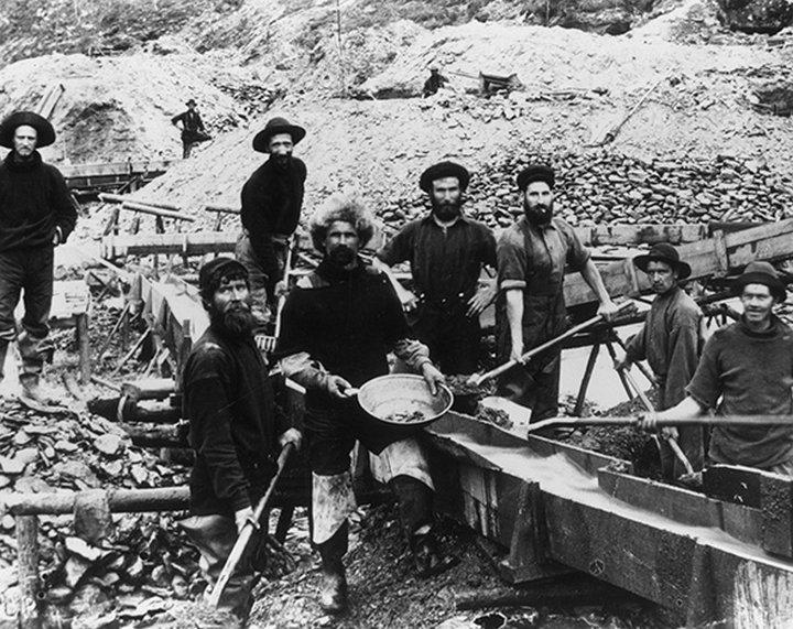 Добыча золота в России в 20 веке