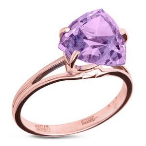 Кольцо из фиолетового сплава