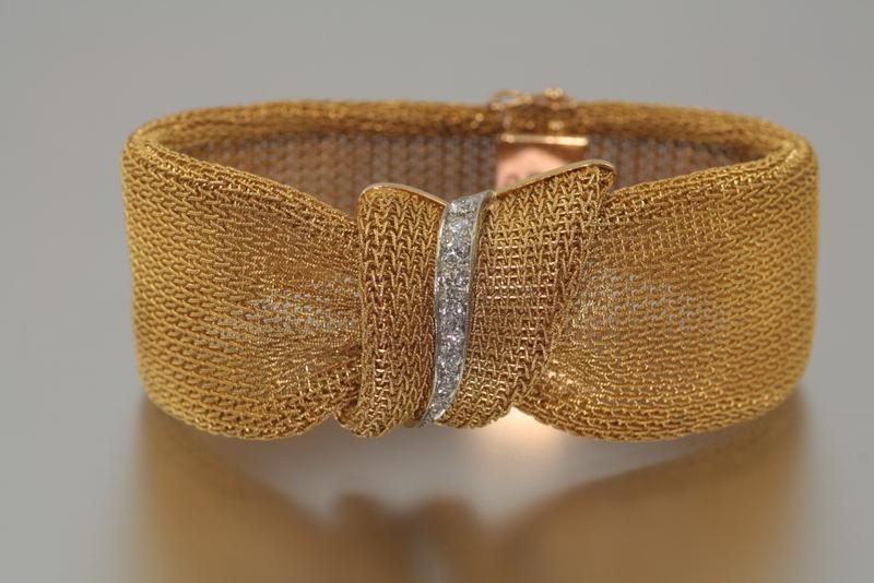 Браслет из итальянского золота