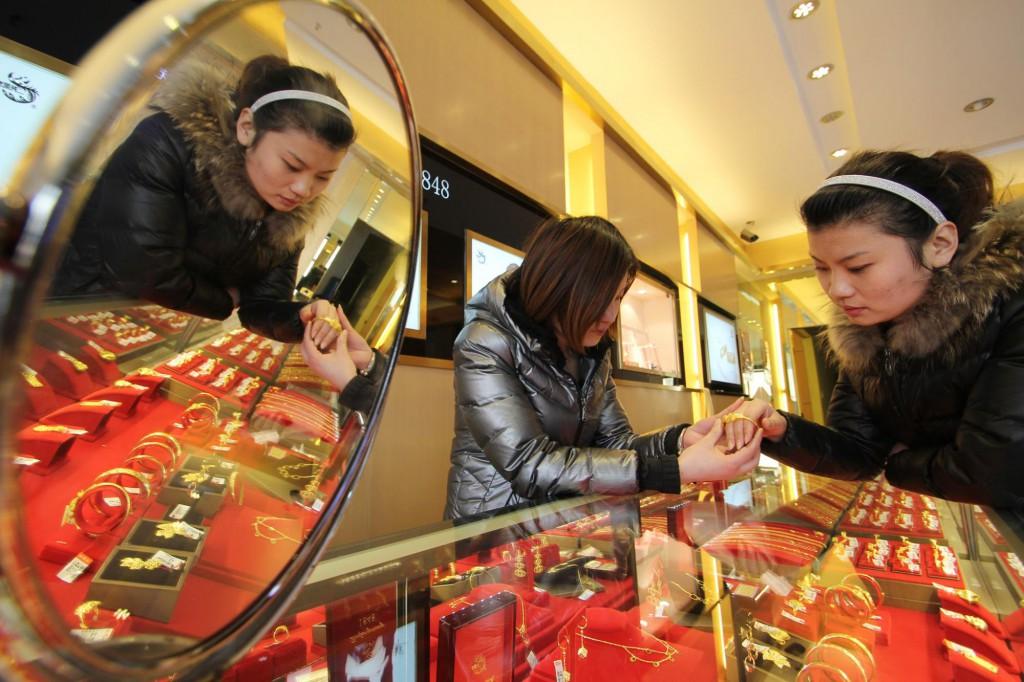 Китайский ювелирный салон