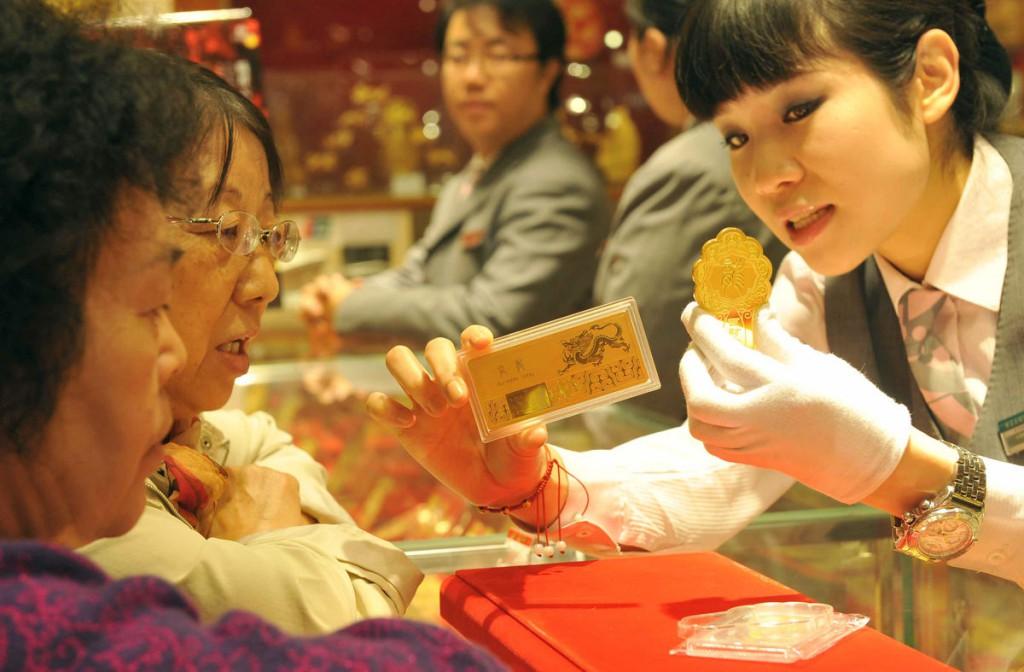 Салон драгоценных металлов в КНР