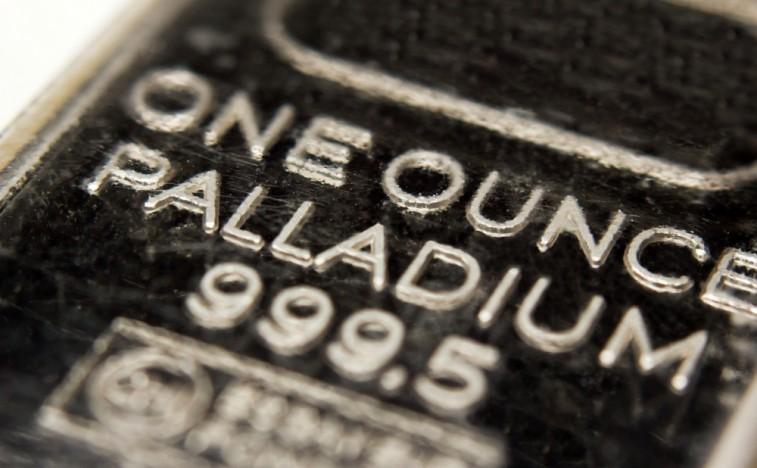 Палладиевый слиток