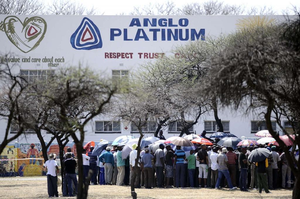 Платина в ЮАР